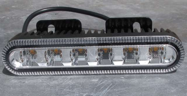 kfz elektrik led blitzer 12 24 volt mit power. Black Bedroom Furniture Sets. Home Design Ideas